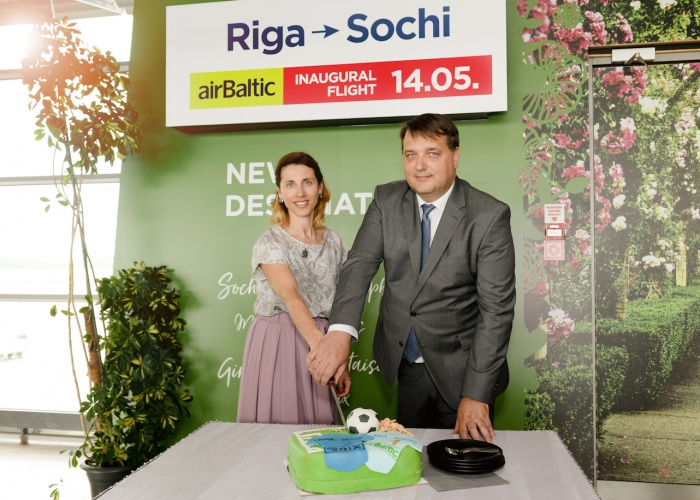 airBaltic launches flights from Riga to Sochi