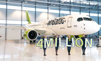 airBaltic welcomes record 4.1 million passengers in 2018