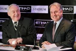 Etihad Airways renews Melbourne Stadiums deal