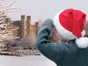 England's most charming castle creates a little Christmas magic