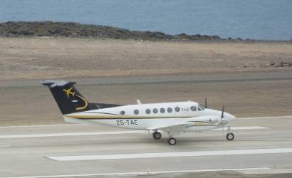 First ever plane lands in St Helena