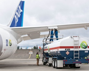 Boeing and All Nippon Airways launch biofuel Dreamliner