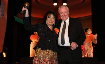 Regine Sixt honoured by World Travel Awards at ITB Berlin