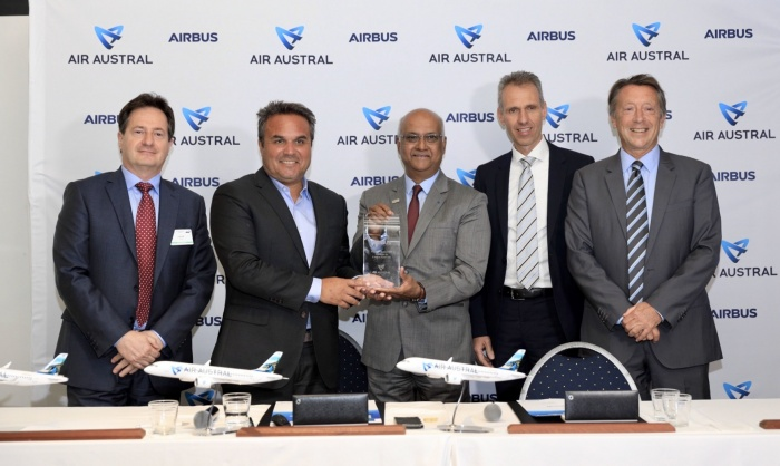 Air Austral becomes latest Airbus A220 customer