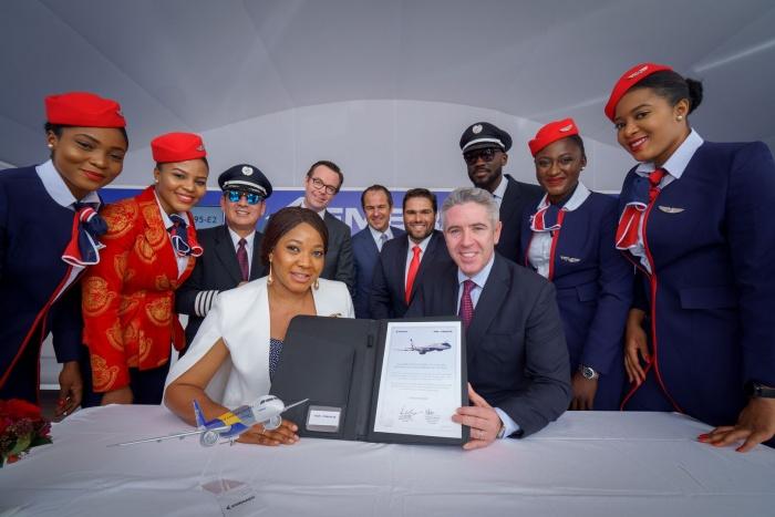News: Dubai Air Show 2019: Air Peace expands Embraer E195-E2 order