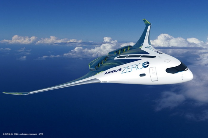 Airbus reveals 'zero emissions' hydrogen-fuelled aircraft for 2035