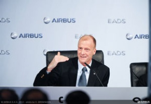 Record year at European aviation giant Airbus