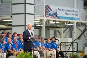 Airbus opens first US manufacturing facility in Alabama