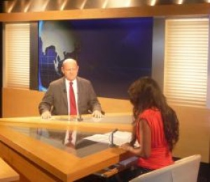 Seychelles Minister guest on Antenne Reunion Television