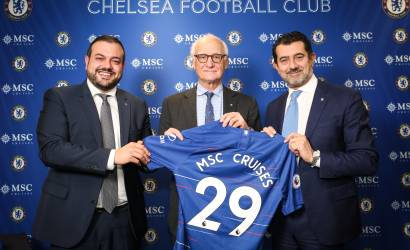 MSC Cruises partners with Chelsea FC ahead of Bellissima launch
