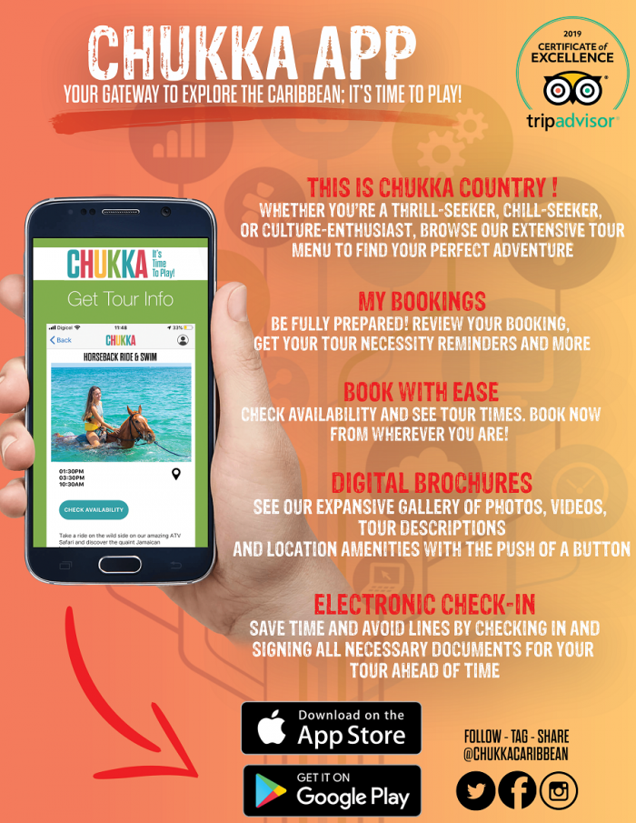 Chukka Tours launches new consumer app
