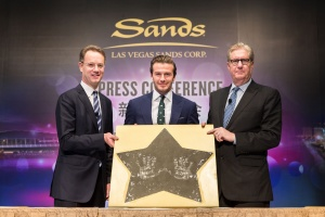Beckham signs on to support Las Vegas Sands