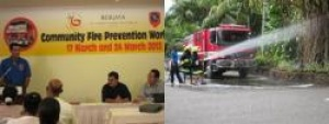 Seychelles Berjaya Resort supports community fire safety awareness workshop
