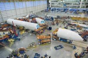 Final construction begins on first Boeing Dreamliner 787-10
