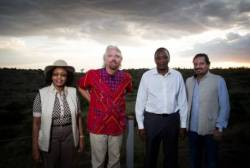 Branson opens Mahali Mzuri with traditional ceremony