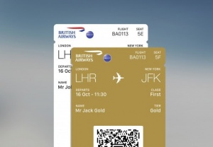Multiple boarding passes land on British Airways app