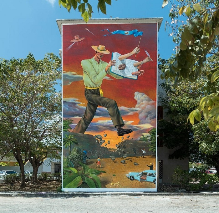 Cancun street art turns city into open-air museum