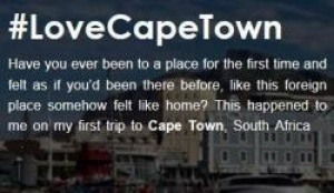 Cape Town tourism campaign uses digital media