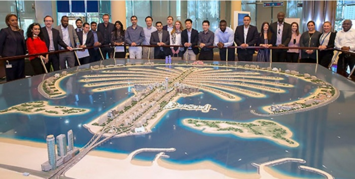 Cass Business School visits Palm master builder Nakheel
