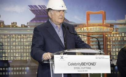 First steel cut for Celebrity Beyond in France