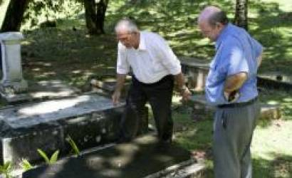 Old French Cemetery of Bel Air remains important Seychelles National Monument
