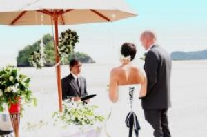 Danish couple first to tie knot at Centara Anda Dhevi Resort