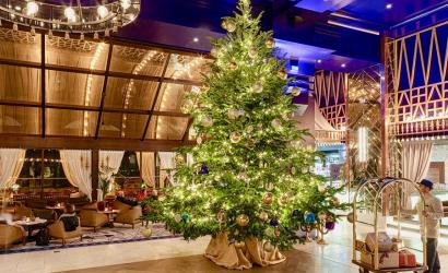 Lavish Christmas tree unveiled at Kempinski Hotel Bahia