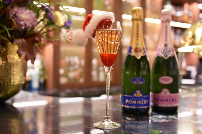 Dukes London unveils Pommery partnership ahead of festive season