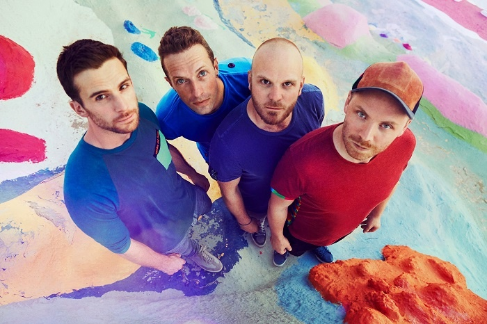 Coldplay to see in New Year at Yas Island, Abu Dhabi