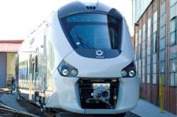Alstom unveils the first Régiolis train for French regions