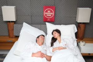 Crowne Plaza trials the world's first snore absorption room