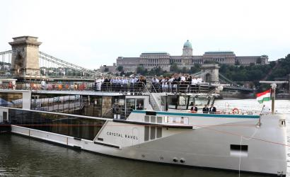 Crystal Ravel christened in Budapest, Hungary
