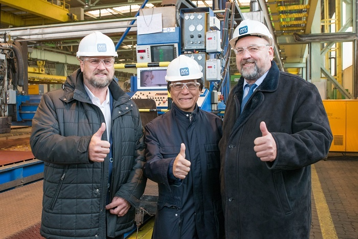 MV Werften cuts first steel for two new Crystal River Cruises vessels