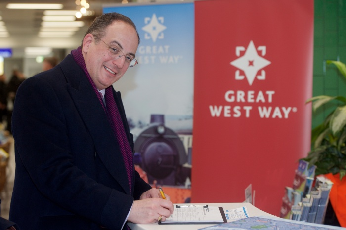 Tourism minister unveils new Great West Way