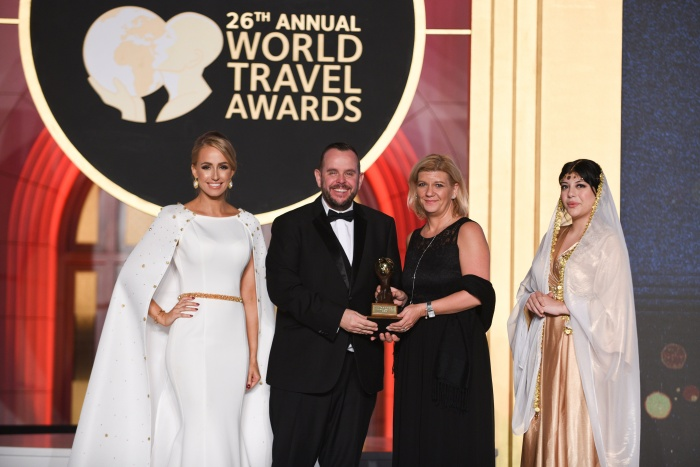 DFDS wins global title at World Travel Awards