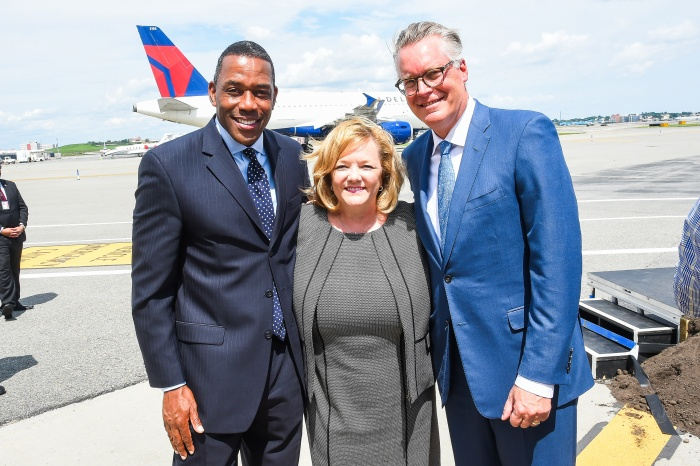 Delta Air Lines breaks ground on $4bn LaGuardia Airport development