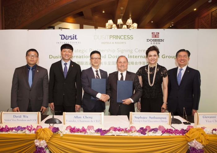 Dusit International signs with Dossen for DusitPrincess expansion in China