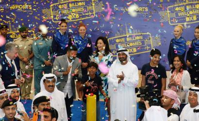 Dubai International welcomes one billionth visitor
