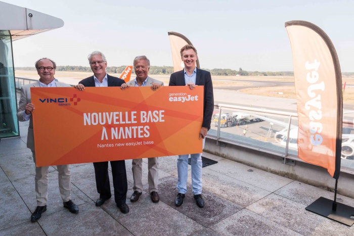 easyJet to open new base in Nantes, France, next year