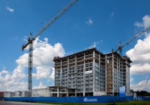 Embassy Suites Orlando - Lake Buena Vista South Celebrates Topping Out