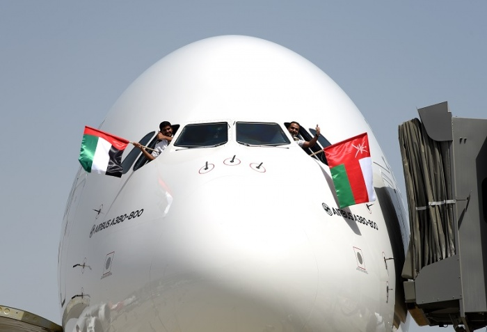 Emirates brings Airbus A380 to Muscat route