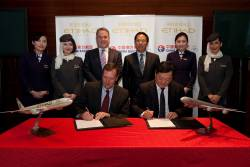 Etihad Airways signs codeshare with China Eastern Airlines