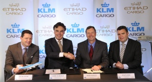 Etihad signs KLM deal to boost cargo fleet
