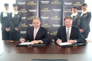 Etihad selects Panasonic in $1bn in-flight systems deal