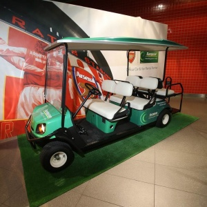 Europcar launches new golf buggy service at Excel