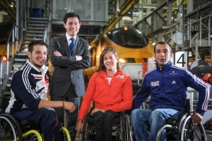 Eurostar unveils Paralympic preparations