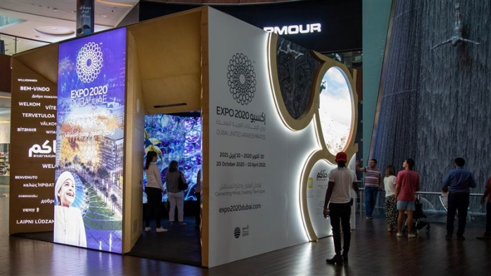 Dubai welcomes Expo 2020 interactive pop-up pavilion