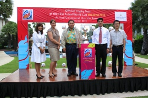 InterContinental Hua Hin Resort to sponsor FIFA Futsal World Cup 2012