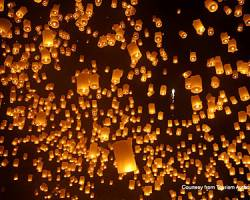 Celebrate the Northern Thai Festival of Lights, at Four Seasons Chiang Mai