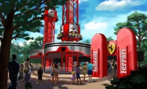 Ferrari Land theme park nears completion at PortAventura